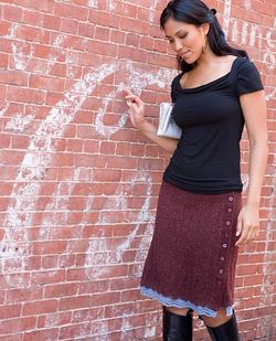 New england knits skirt
